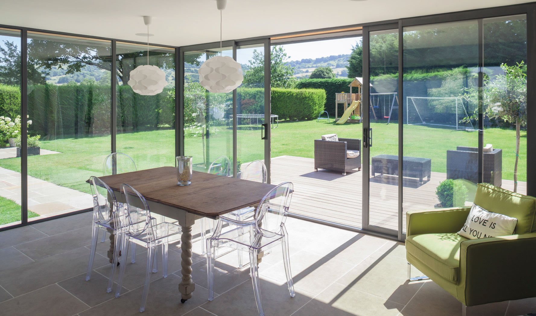 Our Sliding & Slide Folding Doors